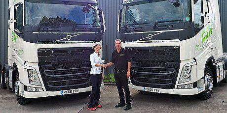 Sponsorship Laura Massaro & CSH Transport