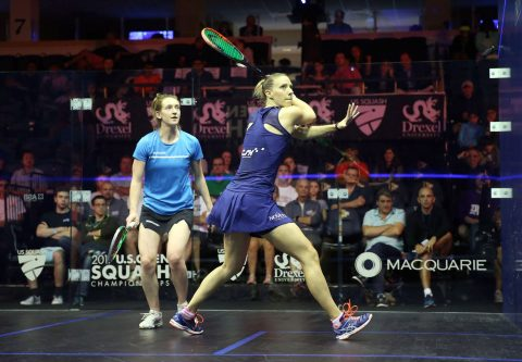 World Champion Squash Player, Laura Massaro